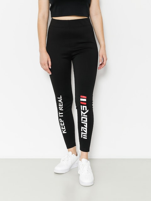 Leginy Majors Keept Wmn (black)