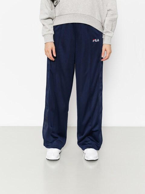 Kalhoty Fila Neka Snap Side Flare Wmn (peacoat/white)