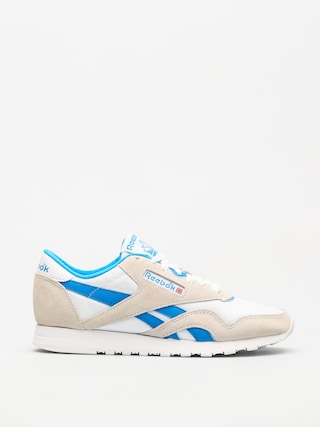 Boty Reebok Cl Nylon Wmn (archive white/cycle blue)