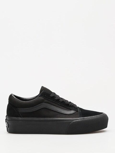 Boty Vans Old Skool Platform (black/black)