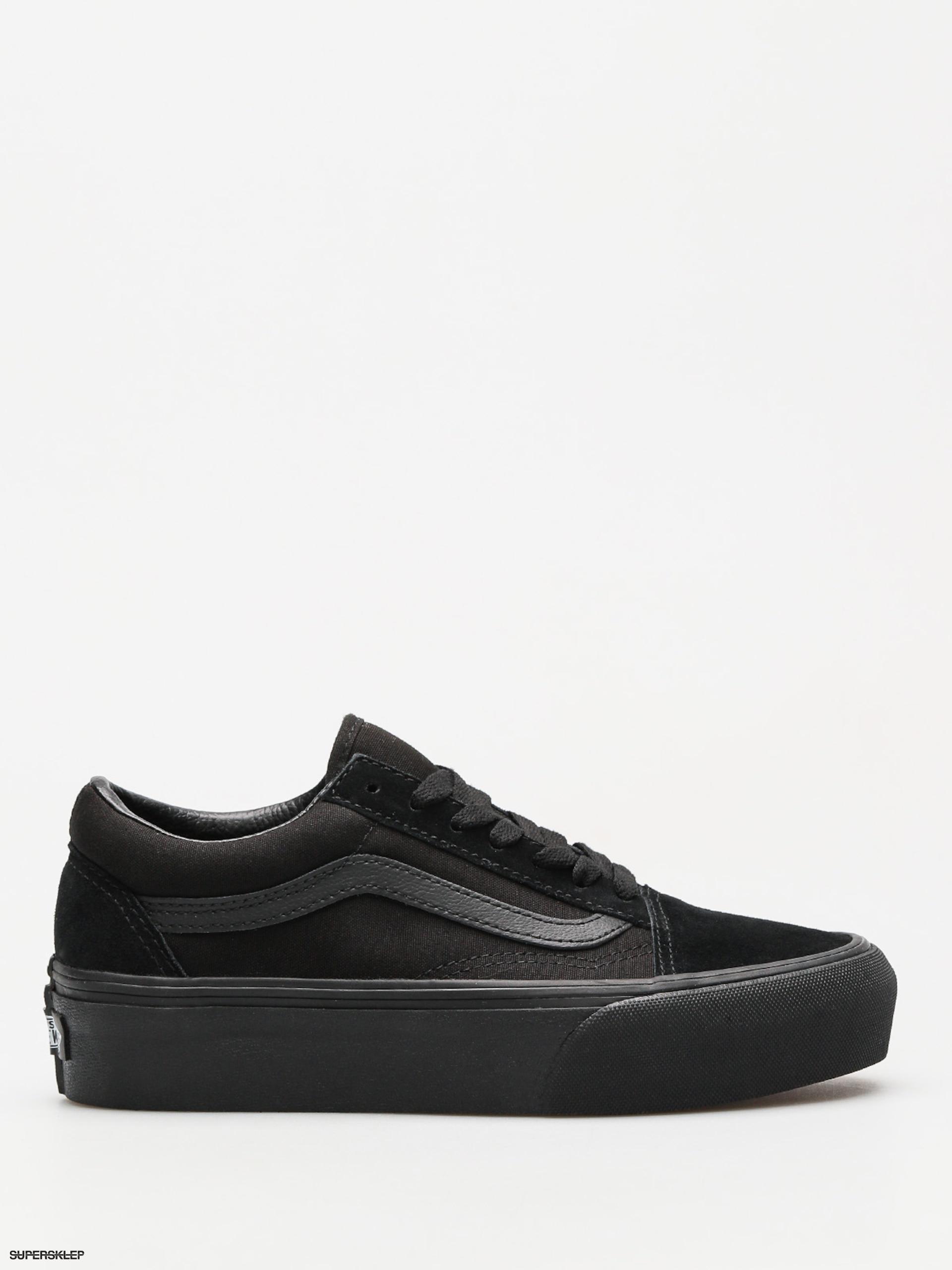 7f9370d971 Boty Vans Old Skool Platform (black black)