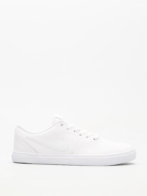 Boty Nike SB Sb Check Solarsoft (white/white white)