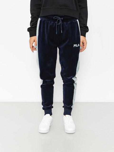 Kalhoty Fila Track Velour Carter (peacoat)