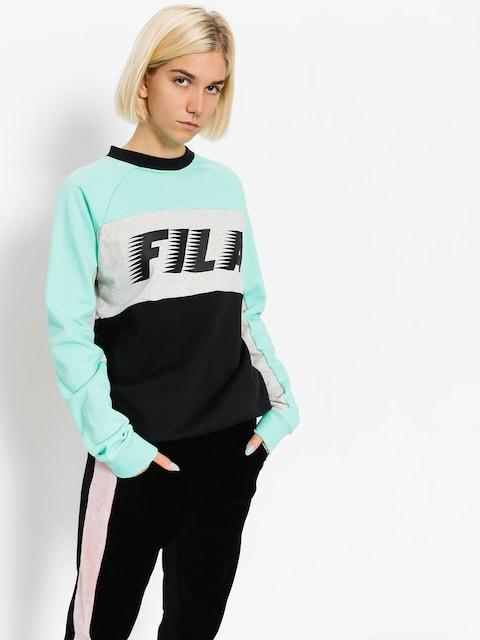 Mikina Fila Layton Colour Block Wmn (black/cockatoo)