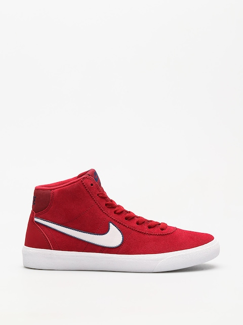 Boty Nike SB Sb Bruin Hi Wmn (red crush/vast grey white)