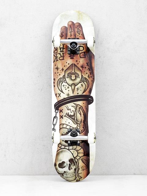 Skateboard Darkstar Freehand Hyb (stone)