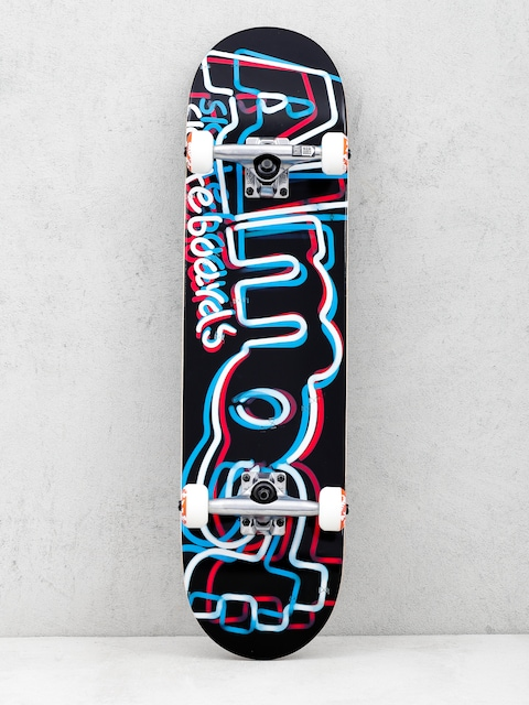 Skateboard Almost Neon Fp (red/white/blue)
