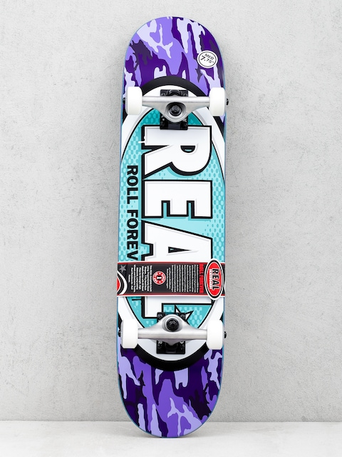 Skateboard Real New Avol Ovals (purple)
