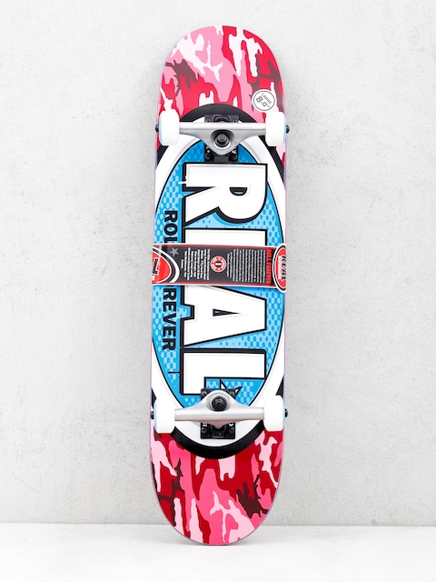 Skateboard Real New Avol Ovals (camo pink)