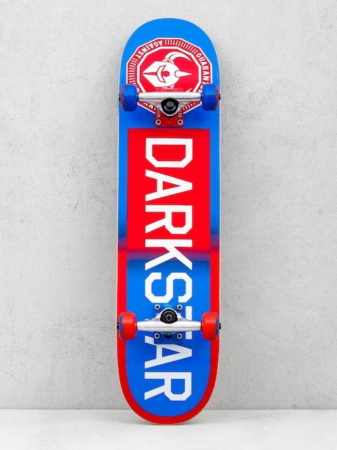 Skateboard Darkstar Time Works (red/blue)