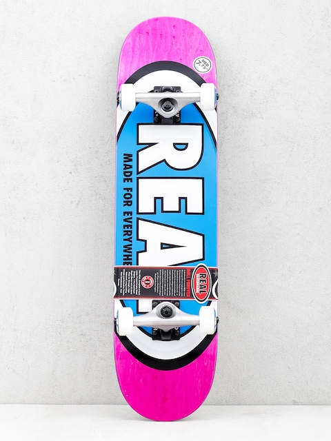 Skateboard Real Team Ovals (pink)