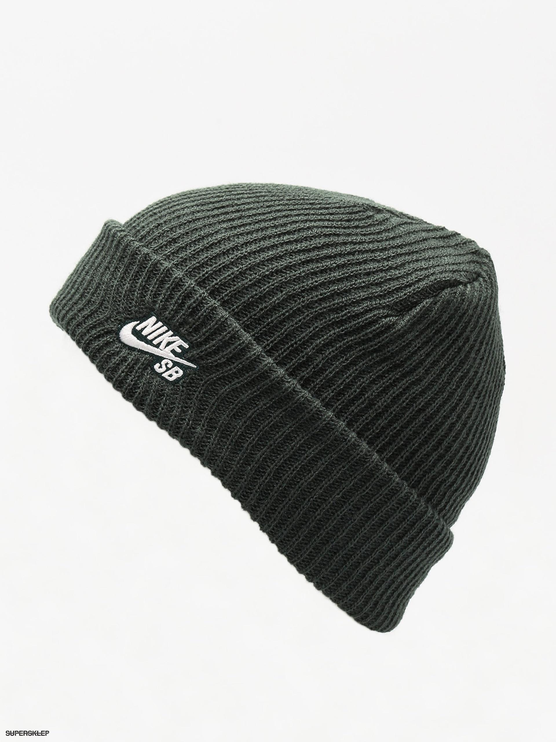 54e707be4f4 Čepice Nike SB Sb Fisherman Beanie (midnight green white)