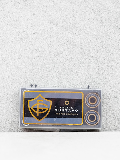 Ložiska FKD Pro Bearings Felipe Gustavo (black/gold)