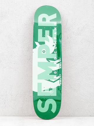 Skateboards Semper Deska Rhino (green)