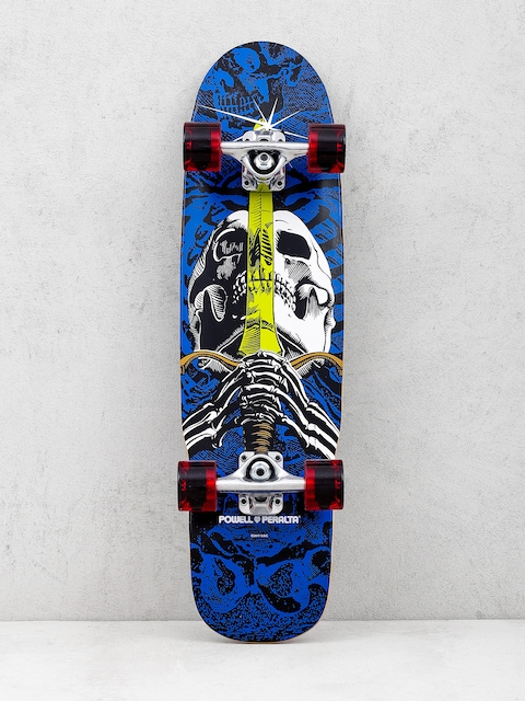Cruiser Powell Peralta Mini Skull And Sword (blue/red)