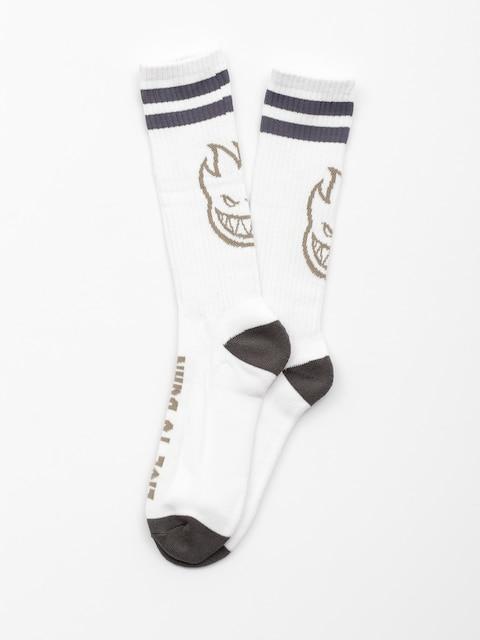 Ponožky Spitfire Heads Up (white/grey)