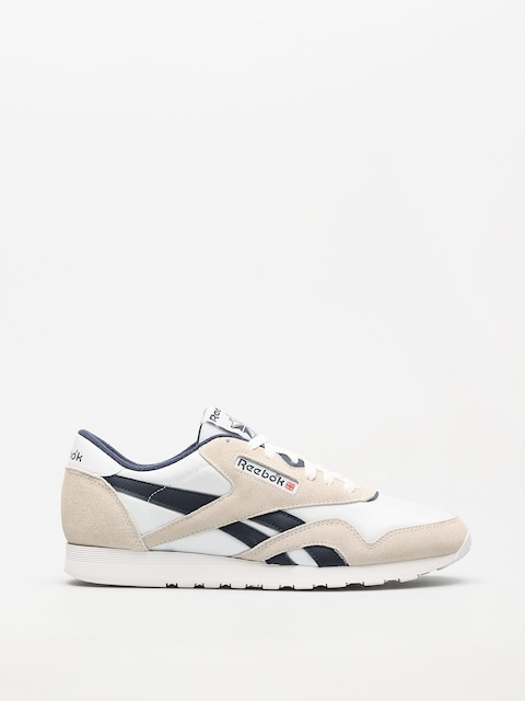 Boty Reebok Cl Nylon R (archive white/collegiate navy)