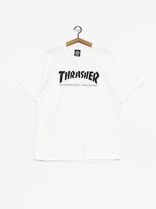 Tričko Thrasher Skate Mag (white)
