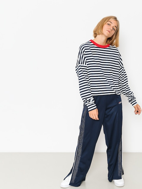 Triko The Hive Oversized Wmn (red/navy/white)