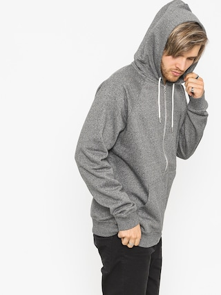 Mikina s kapucí Quiksilver Everyday ZHD (dark grey heather)