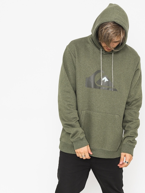 Mikina s kapucí Quiksilver Big Logo HD (thyme heather)