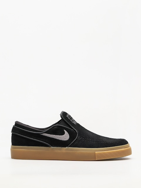 Boty Nike SB Air Zoom Stefan Janoski Slip (black/gunsmoke gum light brown)
