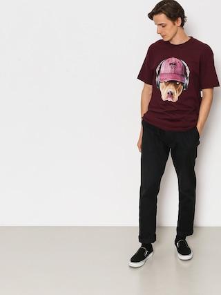 Tričko DGK Red Nose (burgundy)