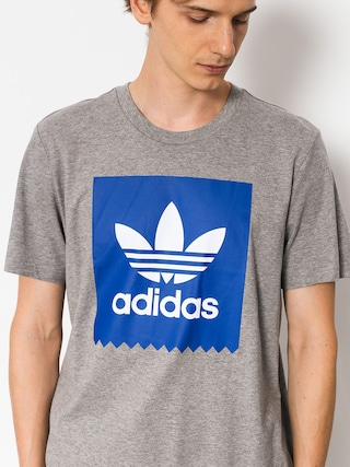 Tričko adidas Solid Bb (core heather/collegiate royal)