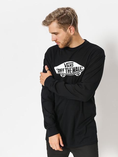 Triko Vans Otw Long Sleeve (black/white)