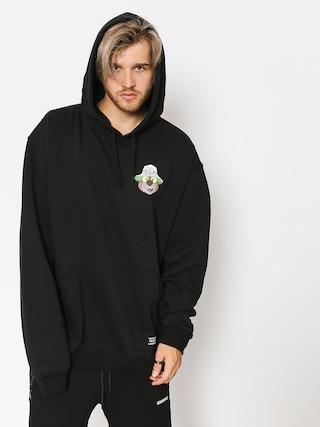 Mikina s kapucí Grizzly Griptape Bear & Loathing HD (black)