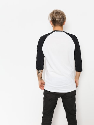 Tričko Vans Full Patch Raglan 3/4 (white/black to)