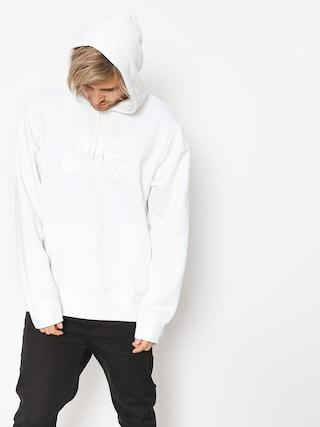 Mikina s kapucí Nike SB Sb Icon HD (white/white)