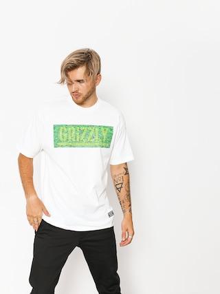 Triu010dko Grizzly Griptape Fresh Cut Box Logo (white)
