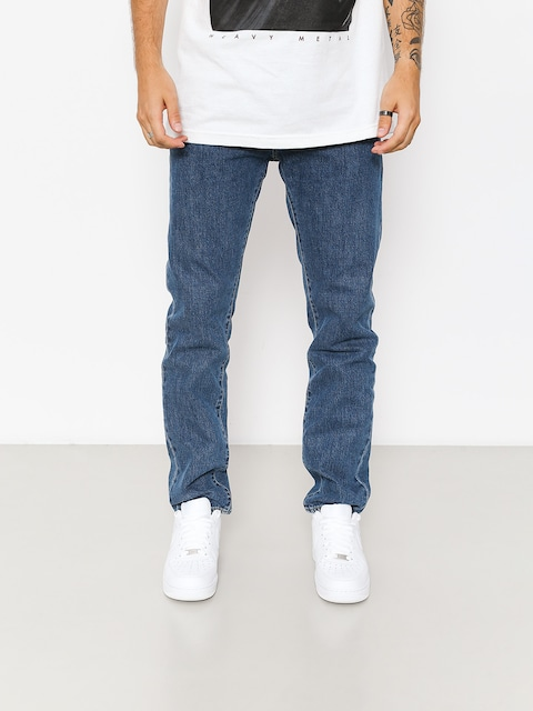 Kalhoty Carhartt WIP Klondike (blue denim 12 oz/blue dark stone washed)