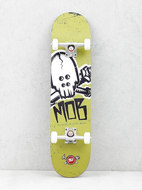 Skateboard Mob Skateboards Skull Stencil (olive green)