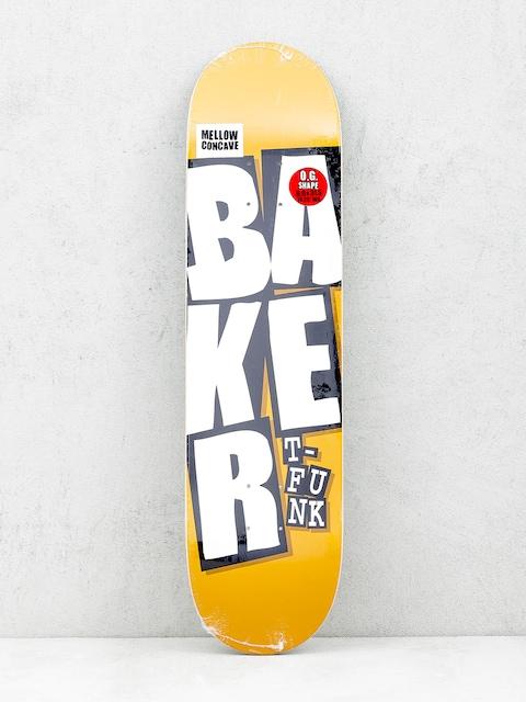Deska Baker Stacked Name (camel)