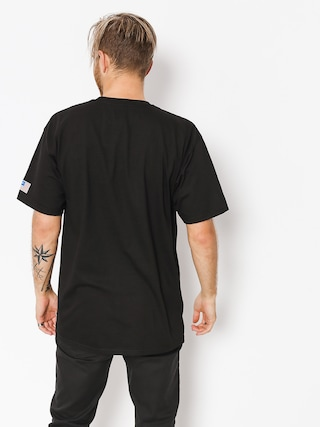 Tričko HUF Fuck It Flag (black)