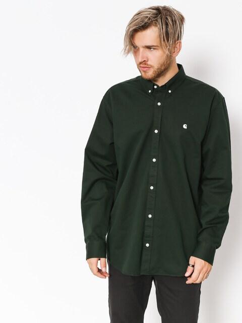 Košile Carhartt WIP Madison Ls (loden/wax)