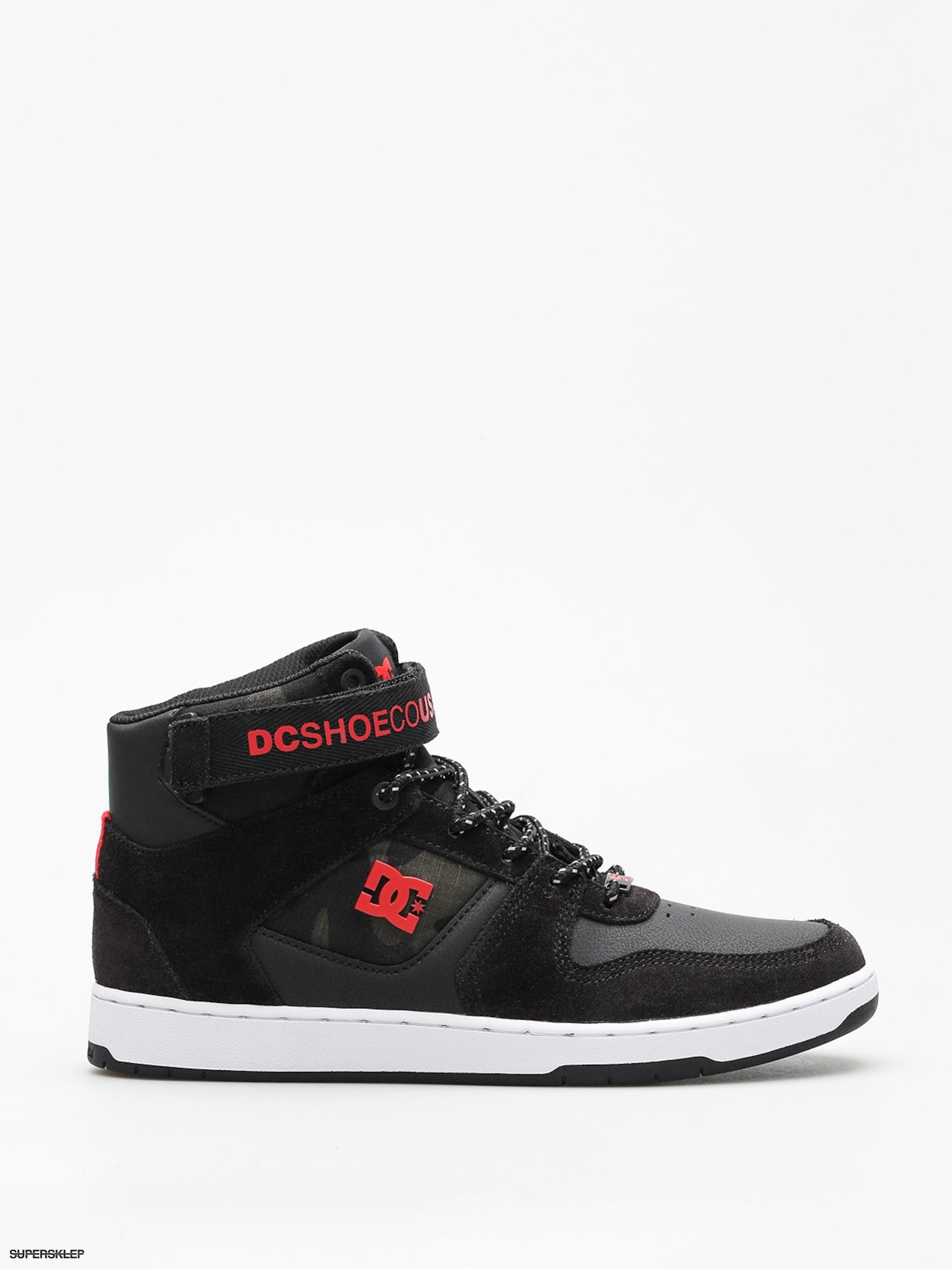 2f53f60a5e Boty DC Pensford Se (black white red)