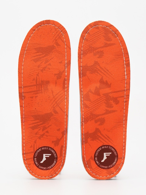 Vložky Footprint Orthotic Insole (orange camo)