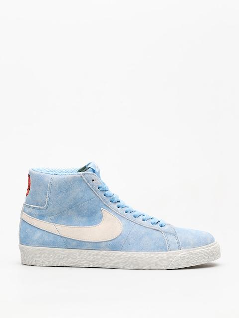 Boty Nike SB Sb Zoom Blazer Mid (university blue/light bone habanero red)