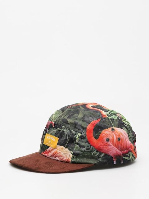 Kšiltovka  Malita Flamingo ZD (yellow brand)