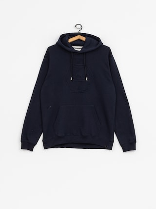 Mikina s kapucí Quiksilver Swell Emboss HD (navy blazer)