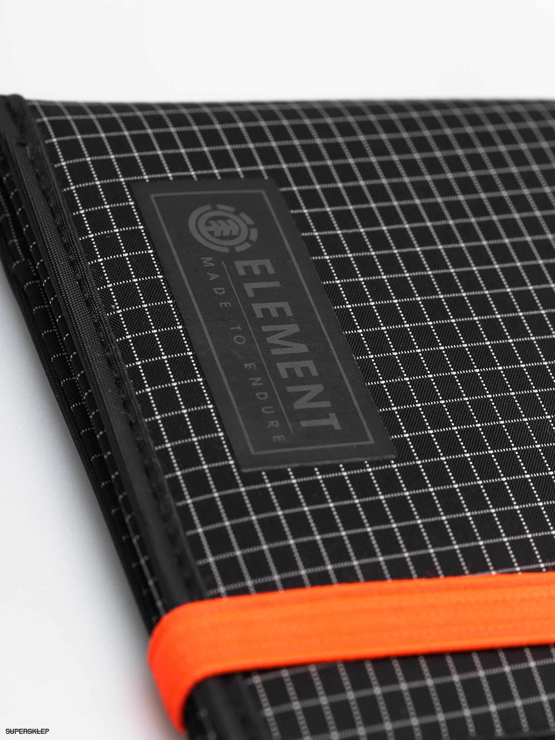 Peněženka Element Endure (ultra black) 4746d33358