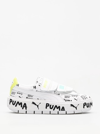 Boty Puma Platform Trace Strap x SHANTELL MARTIN Wmn (puma white/puma)
