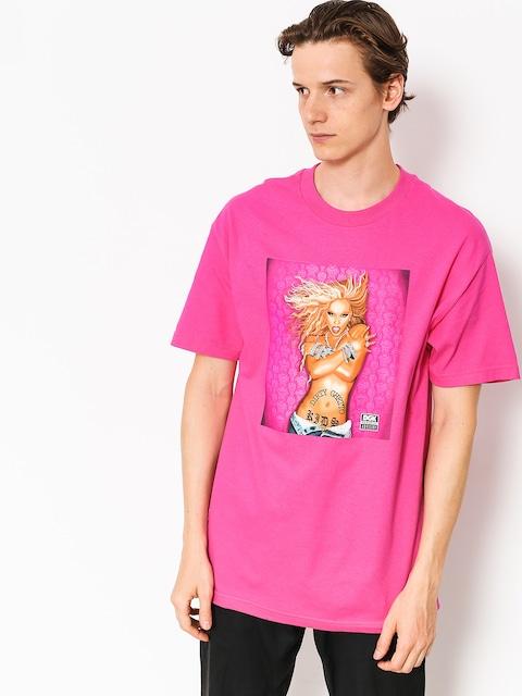 Tričko DGK Queen B (hot pink)