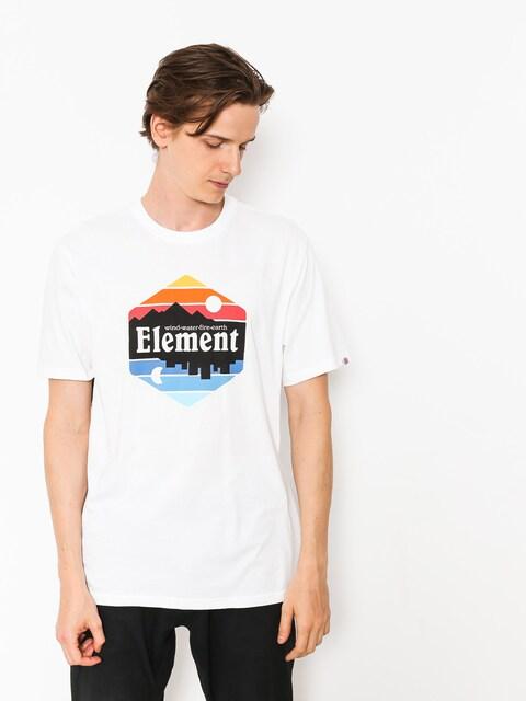 Tričko Element Dusk (optic white)