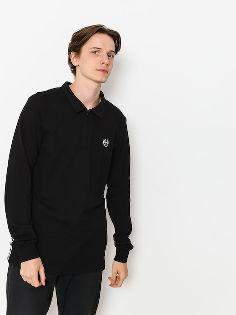 Polo tričko Koka Tape (black)