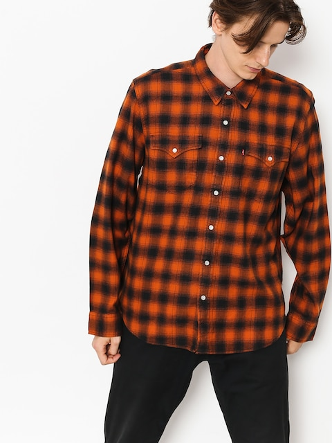 Košile Levi's Western Shirt (nilgai bombay brown)