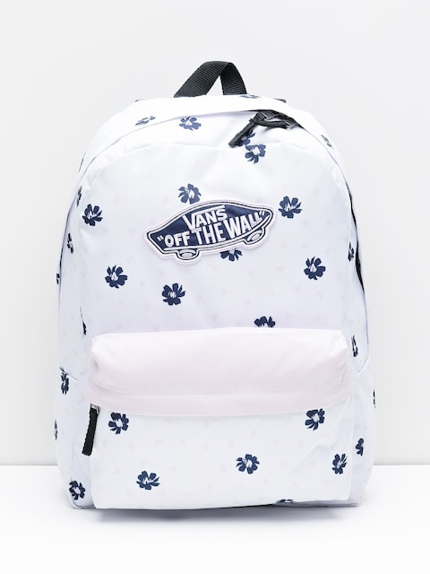 Batoh Vans Realm Wmn (white abstract daisy)